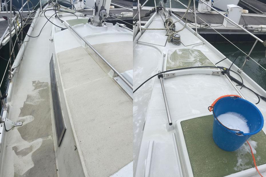 nettoyage bateau la rochelle