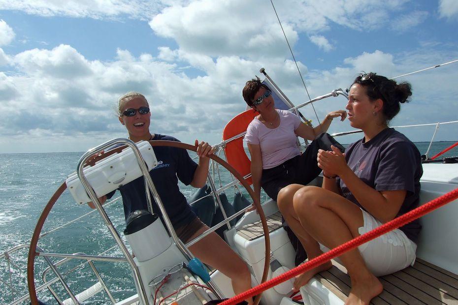 croisière voile équipage féminin