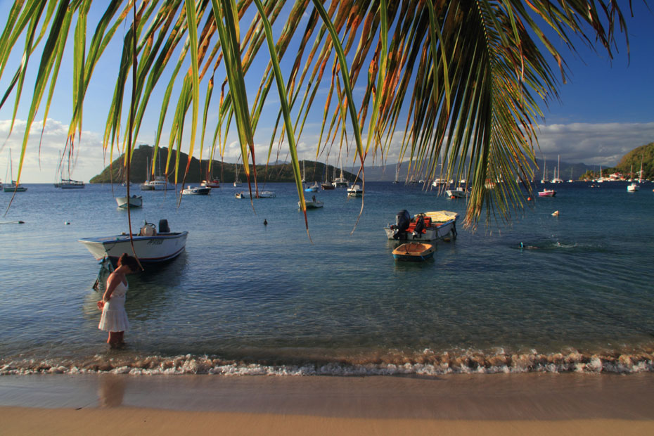 Croisière voile école aux Antilles