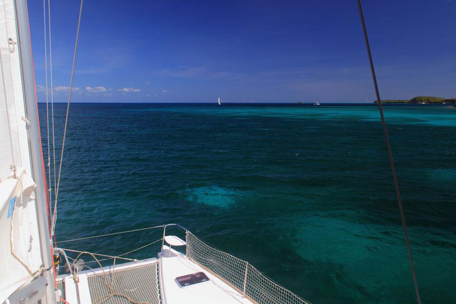 Croisière école en catamaran aux Antilles