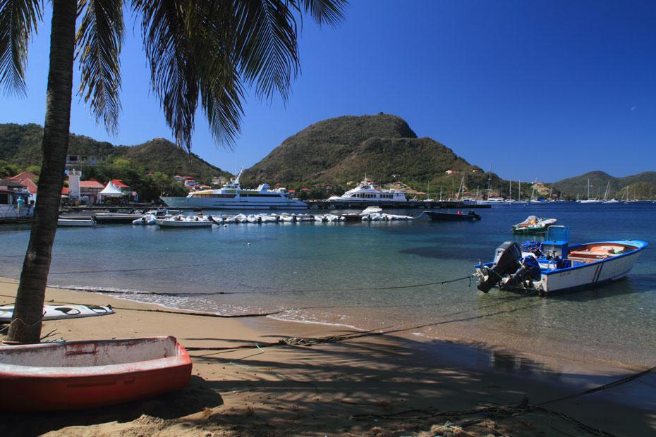 Guadeloupe, Les Saintes, La Dominique, Marie-Galante