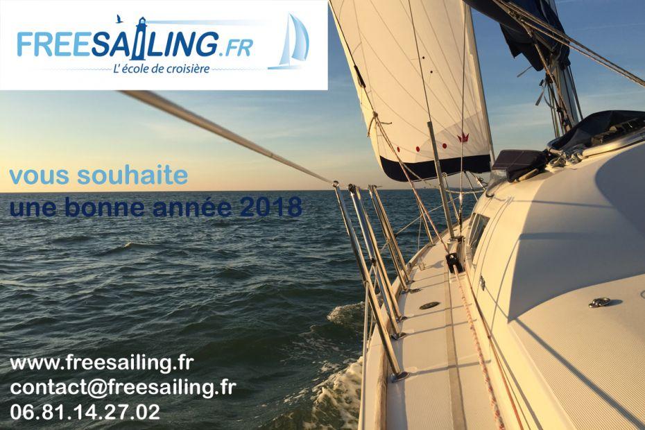 Freesailing .fr l'école de croisière voile à La Rochelle