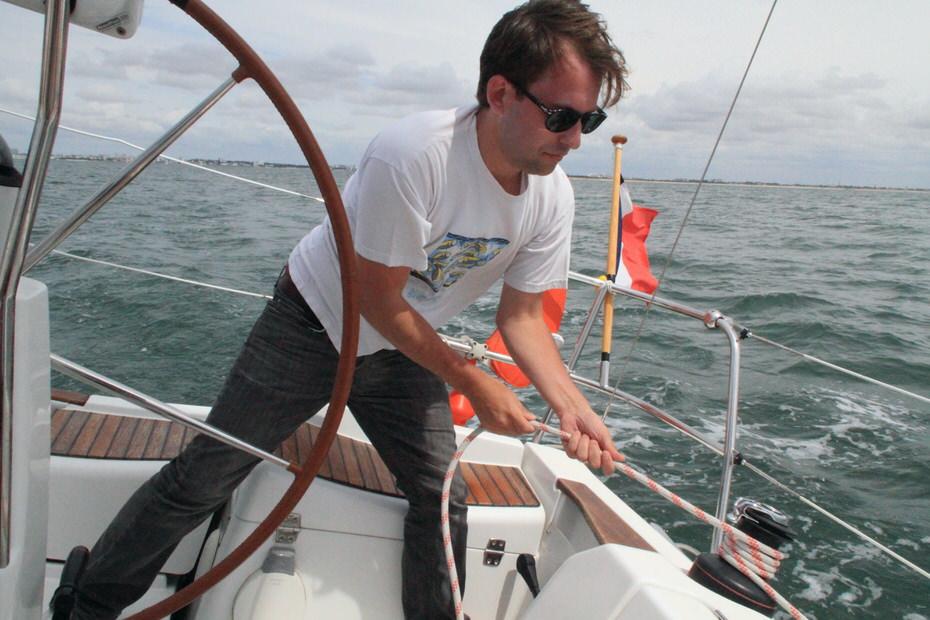 manoeuvrer un voilier
