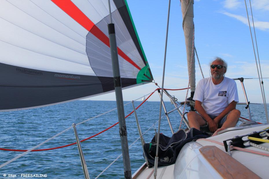 manoeuvres de spi en voilier de croisière