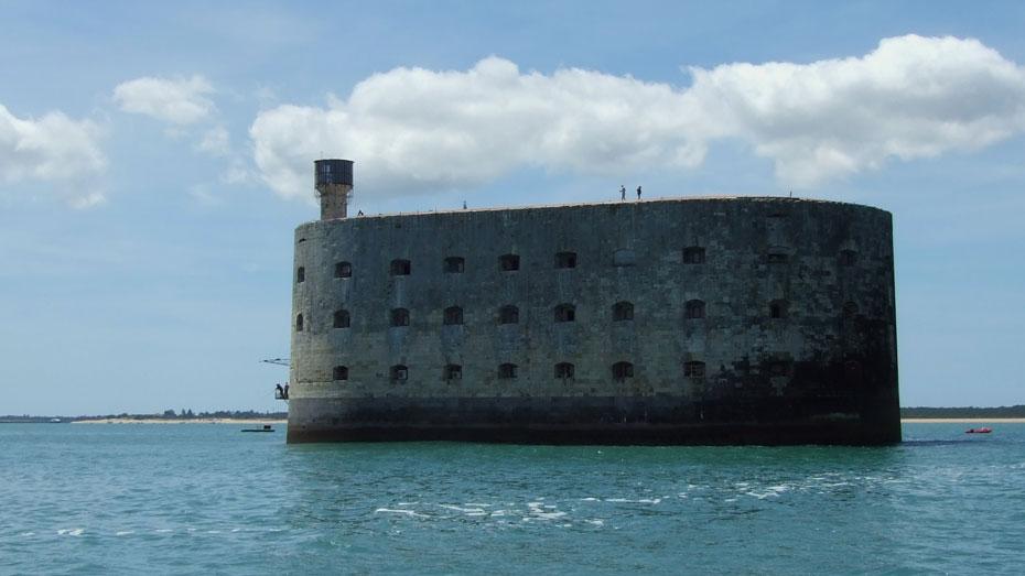 Fort Boyard à la voile