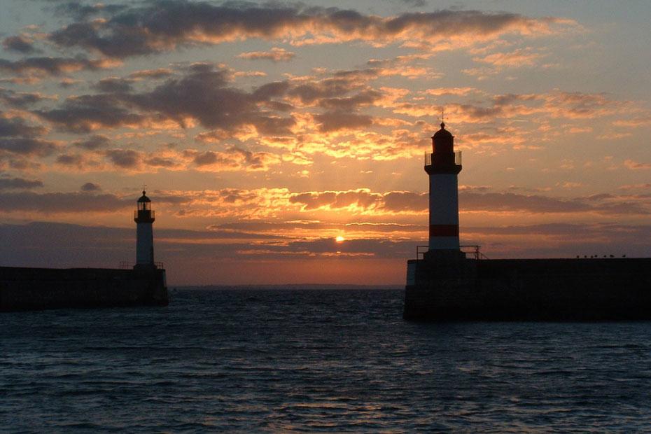 ile de Groix lever de soleil sur Port Tudy