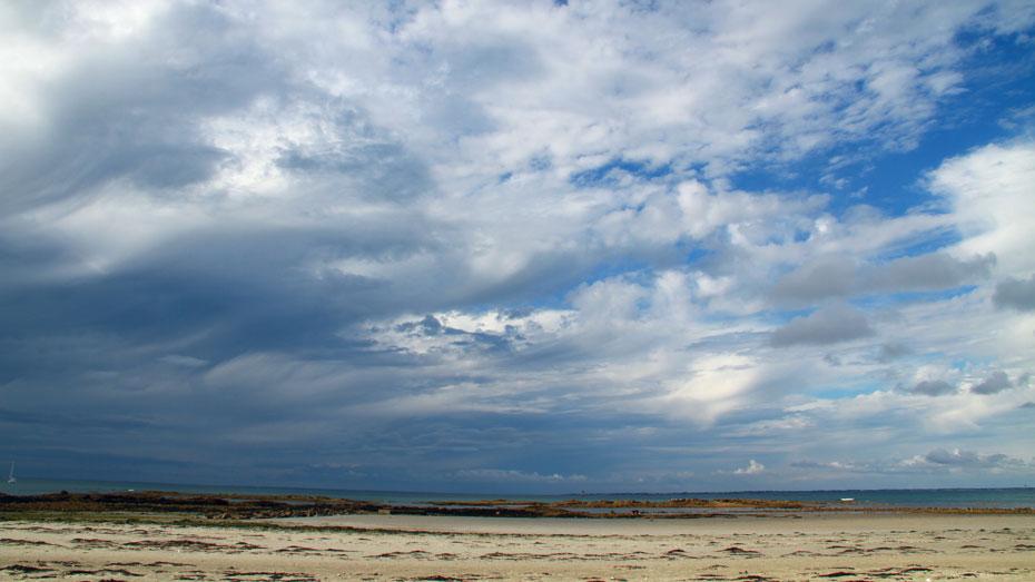 Noirmoutier plage et ciel