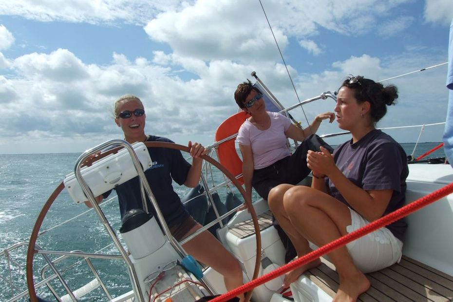 Week-end initiation navigation voile avec FreeSailing