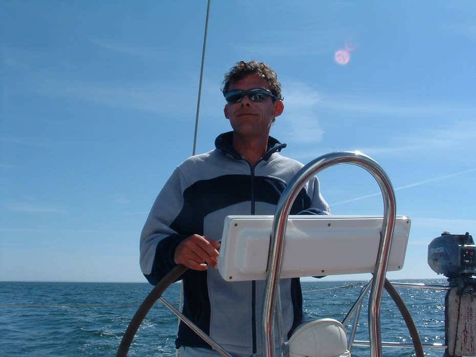 skipper moniteur voile