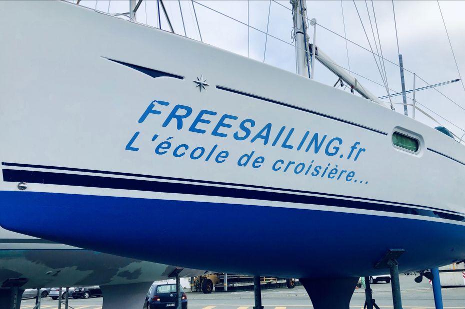 Ecole de croisière voile Freesailing